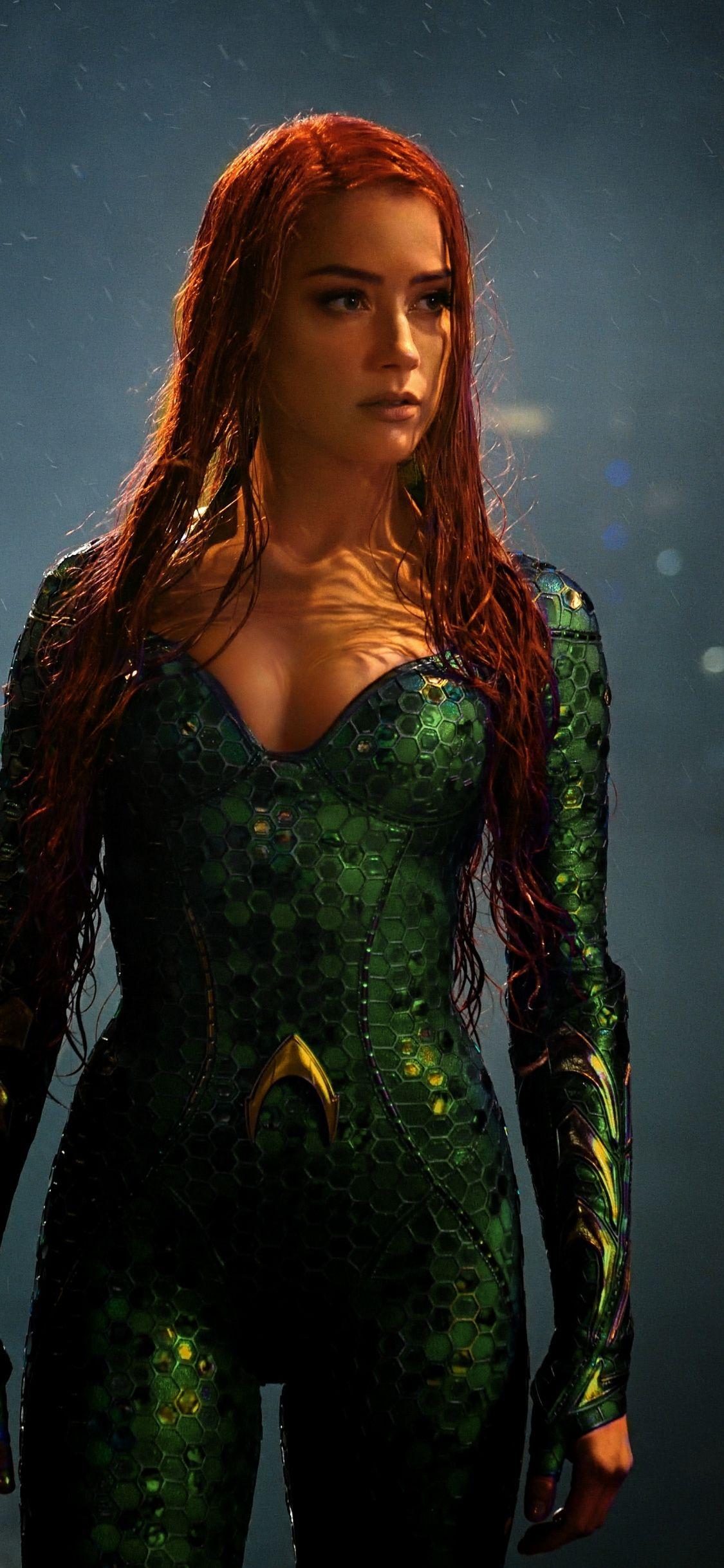 Movie Aquaman Amber Heard Mera 1125x2436 Wallpaper Amber Heard Bikini Amber Heard Amber Heard Hot
