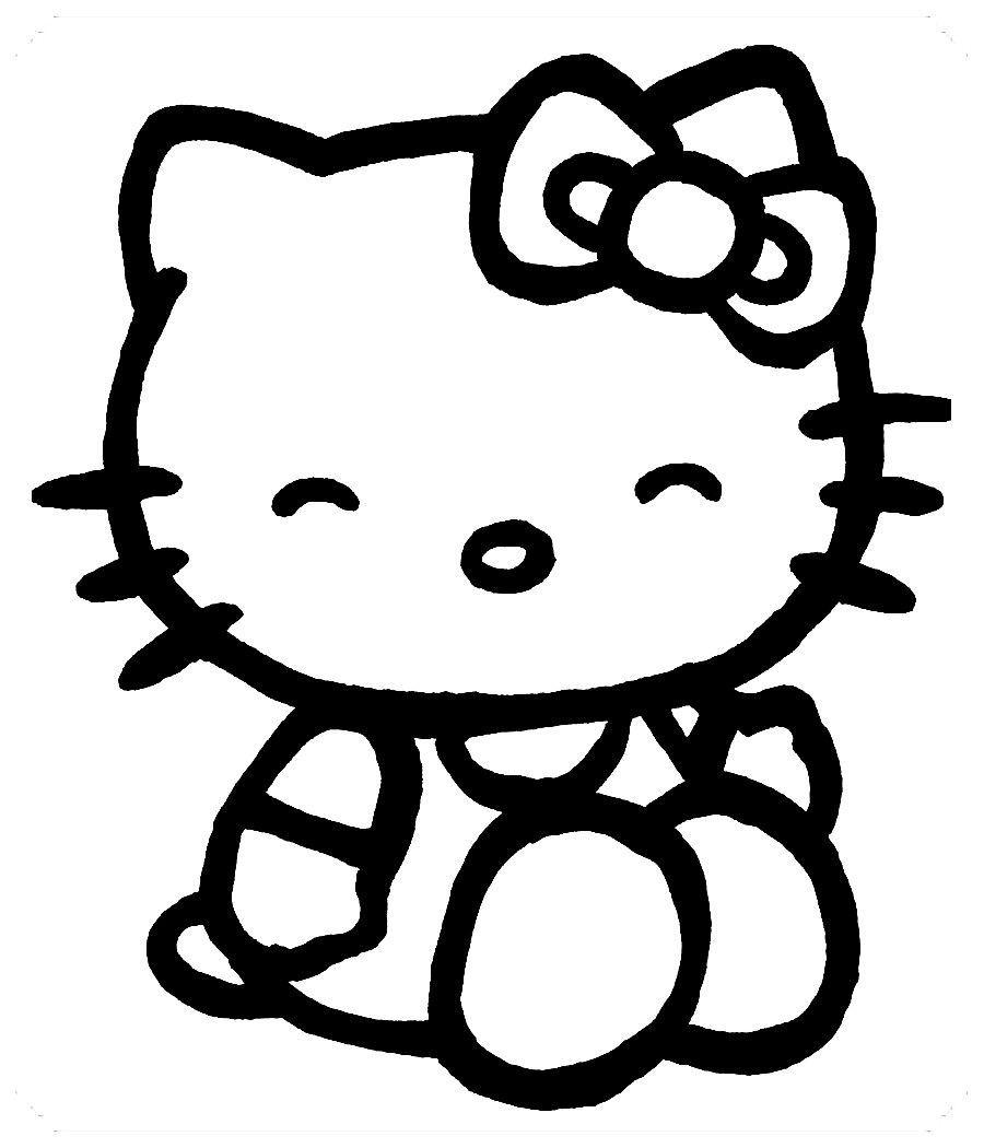 Los Mas Lindos Dibujos De Hello Kitty Para Colorear Y Pintar A Todo Color Imagenes Prontas Pa Arte De Hello Kitty Tatuajes De Hello Kitty Hello Kitty Imagenes