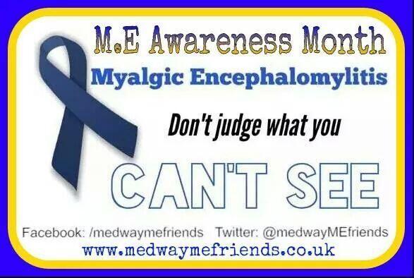 Awareness month 2014 #MEcfs #neuroME #awareness pic.twitter.com/nCbgtHvUVS