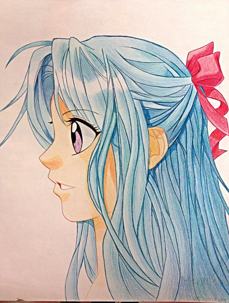 Anime girl hairstyles side view google search anime girl hairstyles manga boy side