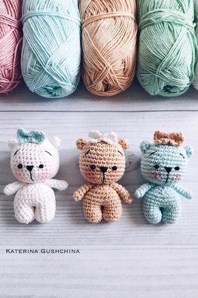 Dress me bunny boy and girl - Free amigurumi pattern | 435x290