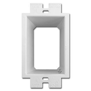 Plastic Box Extender Goof Ring Adjusts Up To 1 5 Deep 1 Gang Switch Plates Electric Box Goof