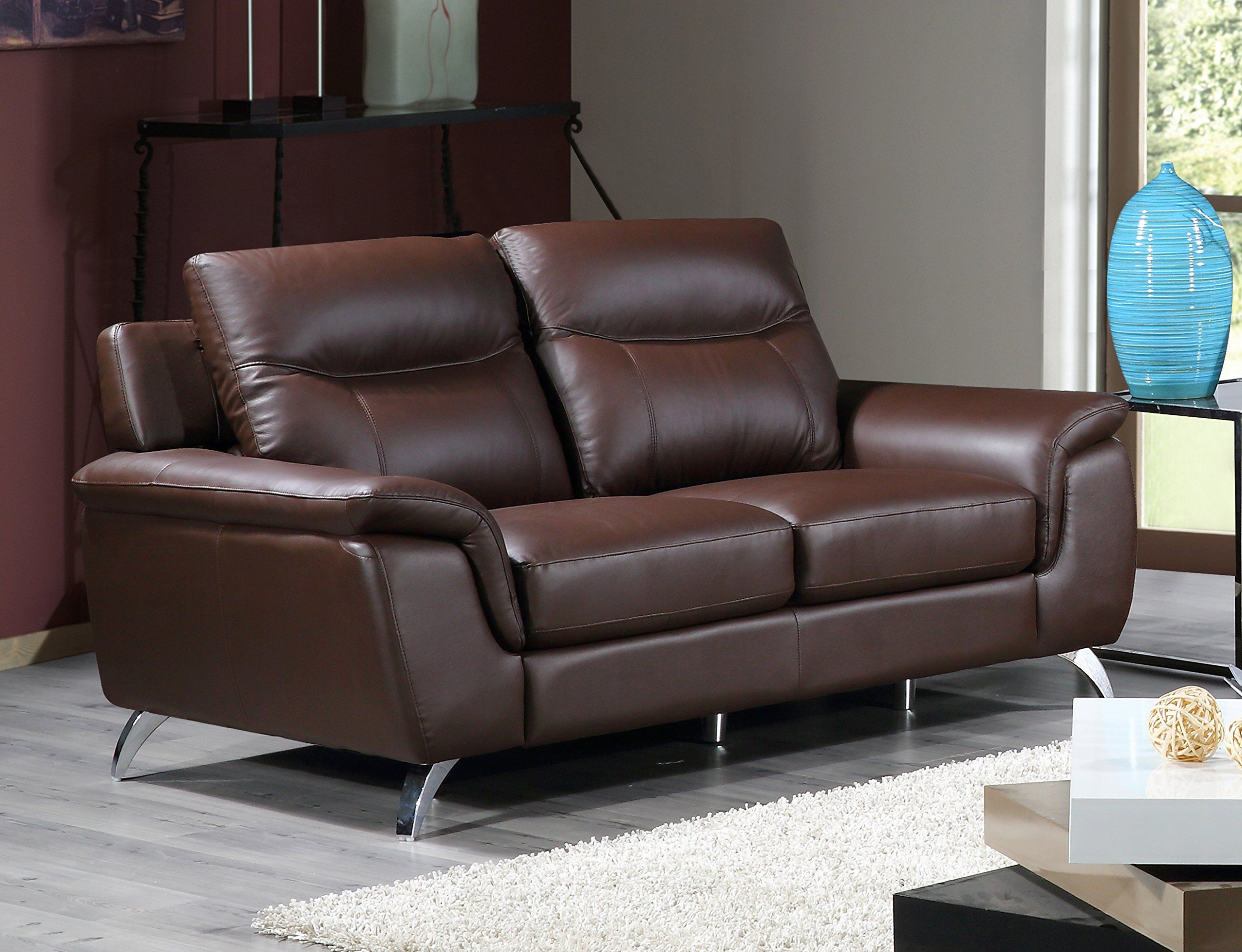 Cortesi Home Chicago Genuine Leather Sofa #Sofa | Sofa ...