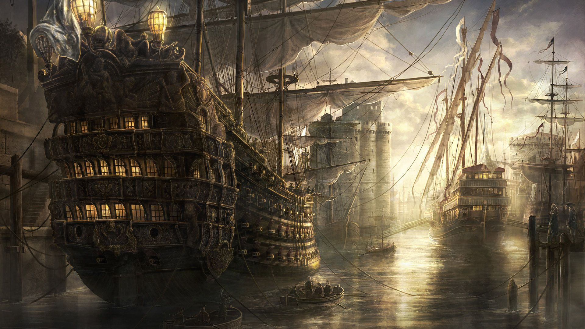 Fantasy ship cliff jolly roger pirate ship rock lightning wallpaper - Pin By Antonio R On Barlovento Pinterest High Quality Wallpapers And Wallpaper