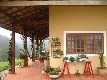 Resultado de imagem para casas de campo sencillas y for Color de pintura al aire libre casa moderna