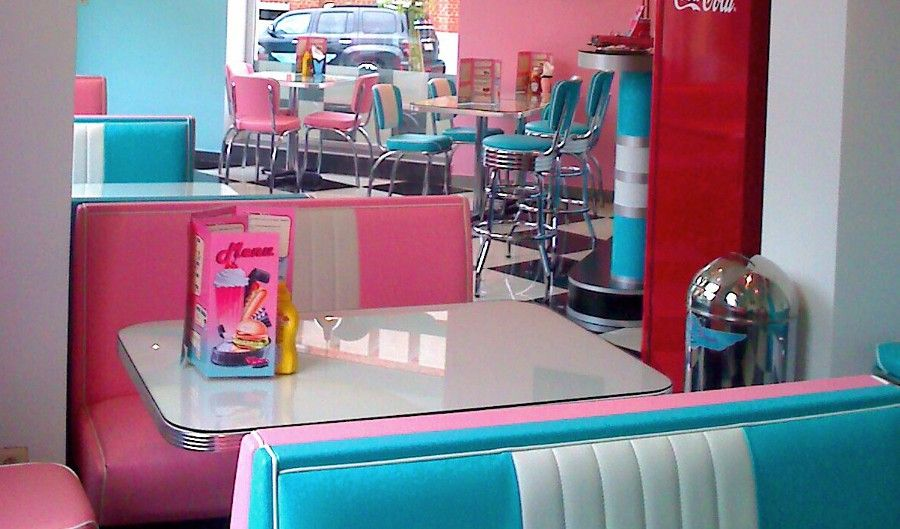 American diner in store pinterest diners retro and