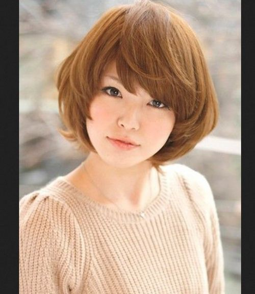 Asian Short Haircuts 2017 For Round Faces