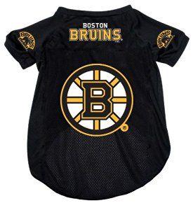wholesale dealer b2f68 c454b Amazon.com : Boston Bruins Pet Dog Hockey Jersey LARGE : Pet ...