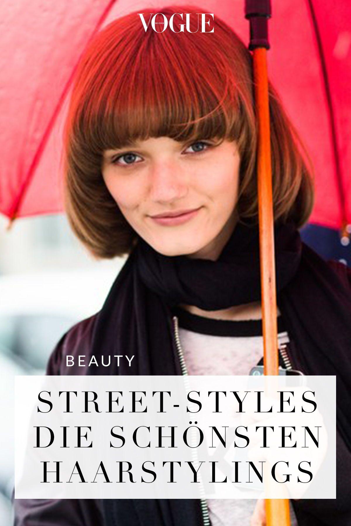Street-Style: Frisuren | Frisuren, Bob frisur, Beauty