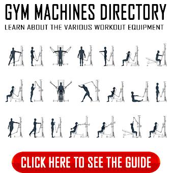 Gym equipment list of names