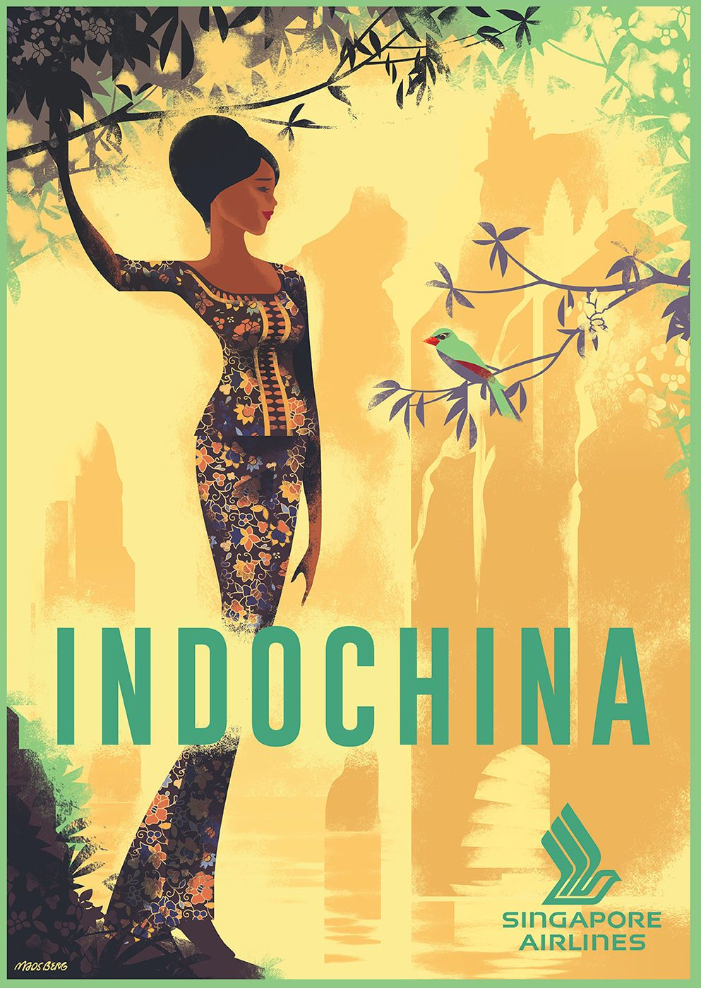 INDOCHINA Singapore Airlines