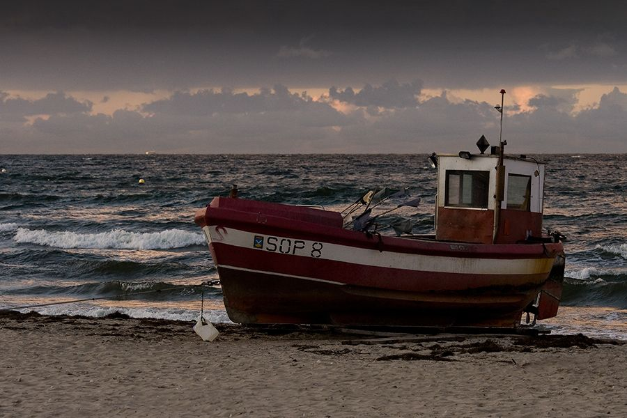 Fishing Boat (Sopot, Baltic Sea, Poland) Ostsee, Polen