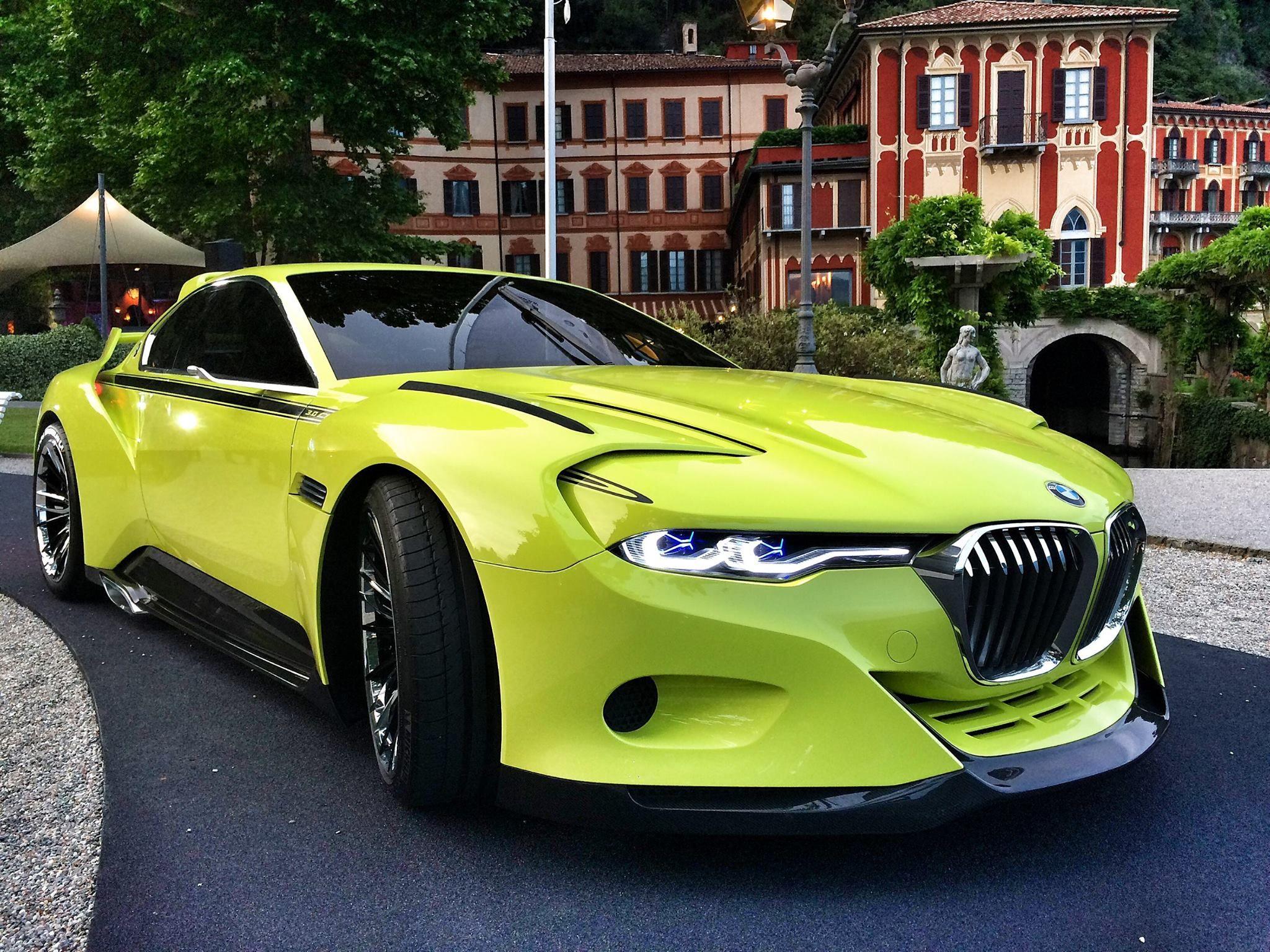 Bmw 3 0 Csl Hommage Concept Bmw 3 0 Csl Bmw Sports Cars Luxury