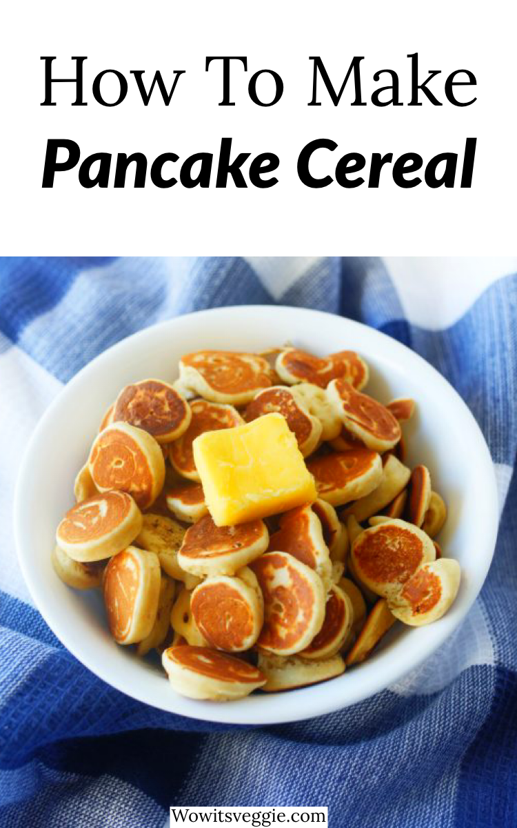 How To Easily Make Pancake Cereal Viral Tiktok Trend Recipe Interesting Food Recipes Recipes Cereal Recipes