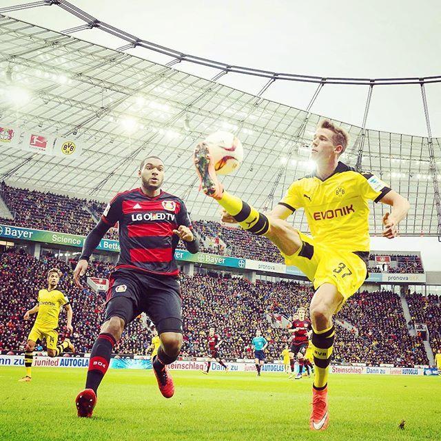 bvb09 on Instagram pinned by myThings Keine Tore zur Halbzeit. // Halftime. No goals. Yet.  #b04bvb #bvb #dortmund #borussiadortmund #bayerleverkusen #leverkusen #bayarena #bundesliga #durm