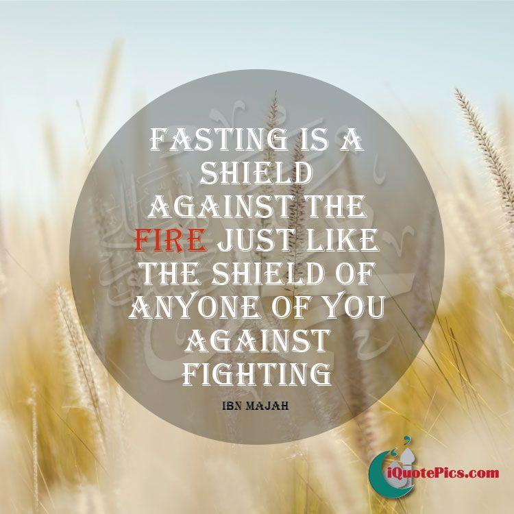 Shield against fire | Hadith, Ramadan greetings, Beautiful ...