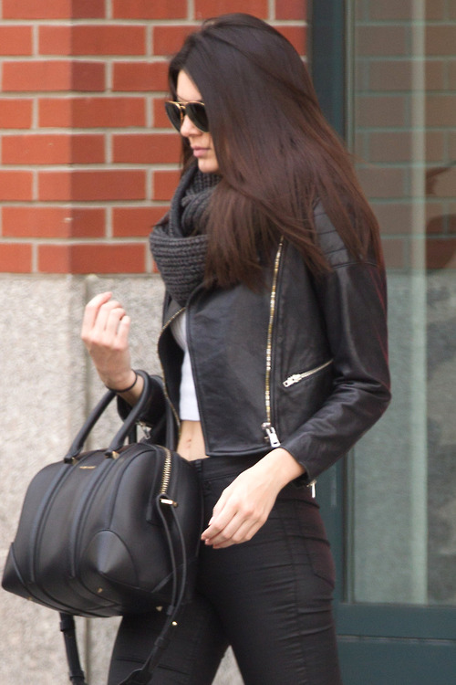 04.28.14:Kendall out in NYC.