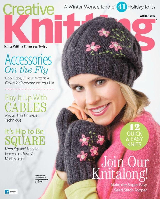 Attractive Creative Knitting Free Patterns Embellishment - Decke ...