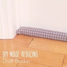 AniBunni: DIY Noise Reducing Draft Blocker Decrease, DIY, Door, Stopper,  Fabric