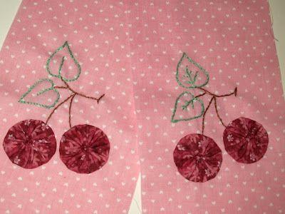 cherry yo-yos