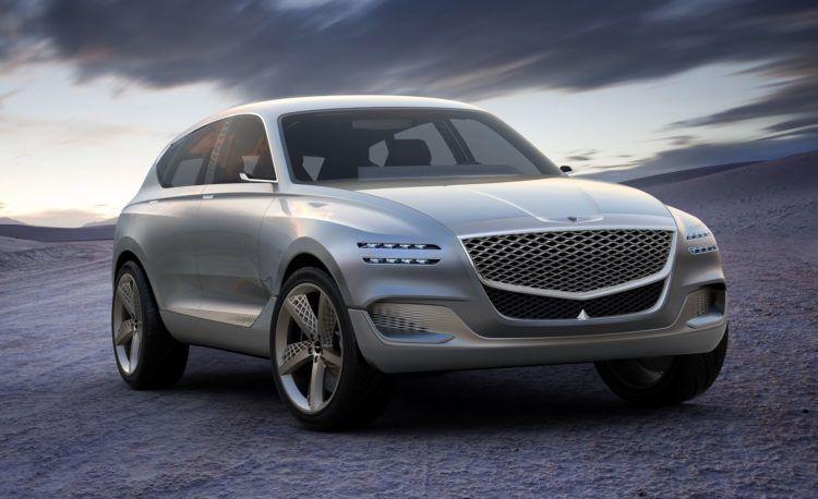 The 2020 Genesis Gv80 Will Be Their First Suv Hyundai Genesis Luxury Suv Hyundai