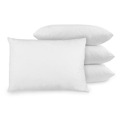 BioPEDIC UltraFresh AntiOdor Standard size Pillow Set of 4 White