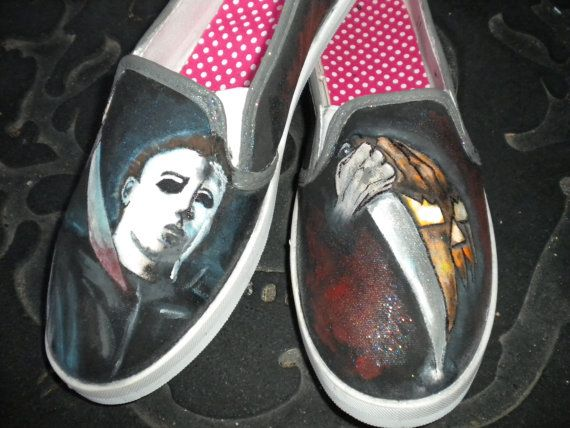 Pin on Horror movie shoes