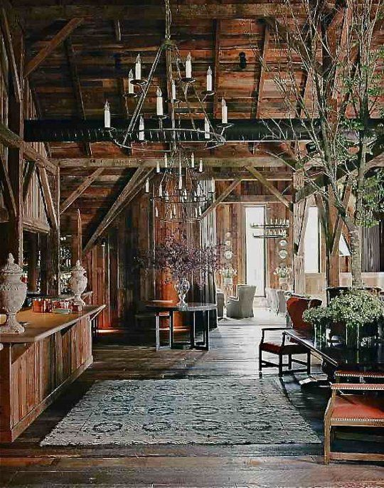 Barn Living Room Decorating Ideas: Country Chic: Blackberry Farm