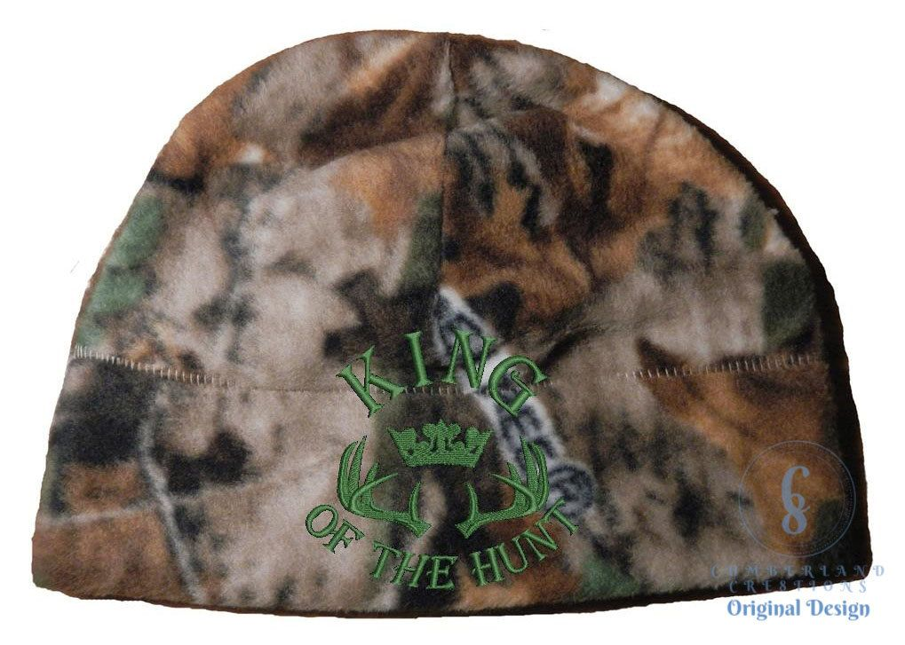 Exclusive king of the hunt design embroidered hunting