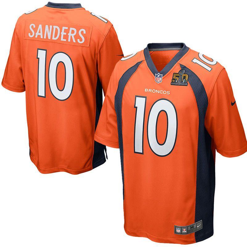 Emmanuel Sanders Denver Broncos Nike