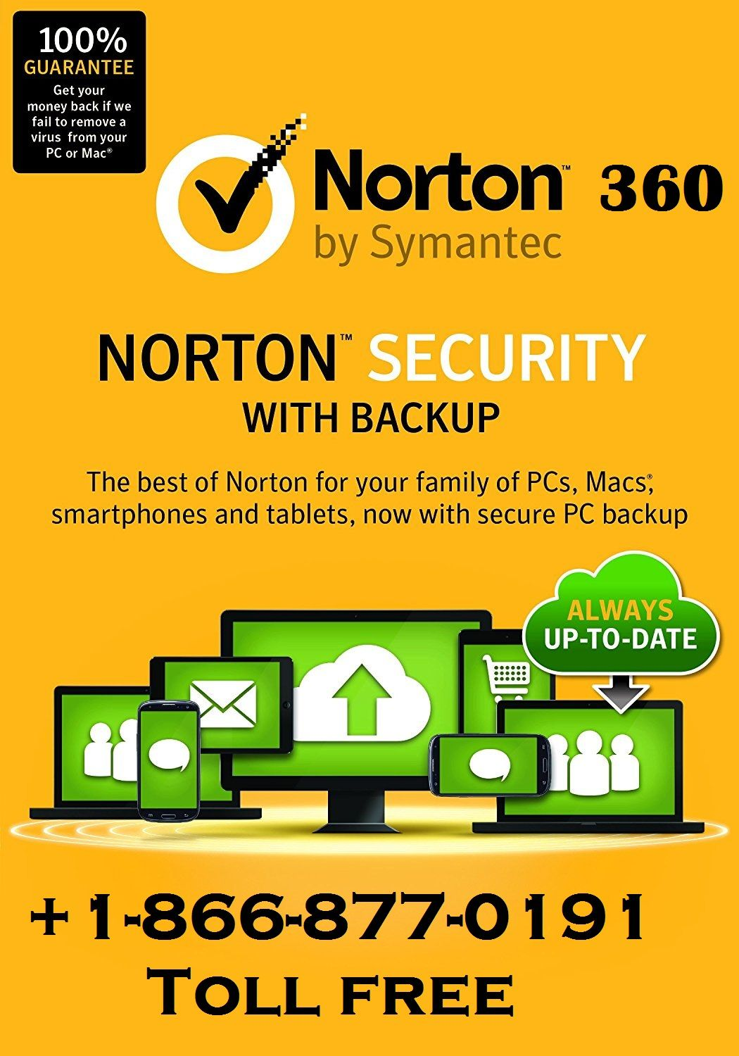 Norton 360 Customer Service Phone Number 18668770191