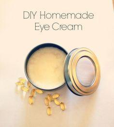 DIY Homemade Anti Aging Eye Cream