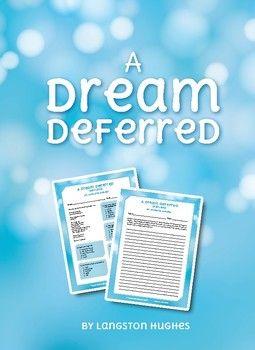 figurative language in a dream deferred