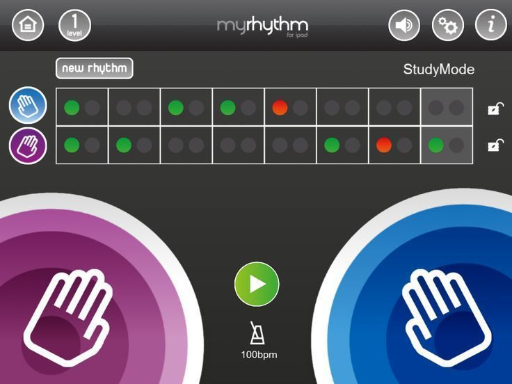 There have been several apps that help practice and learn rhythm concepts the past few months. MyRhythm, from Gregory Burk, is an app that helps you practice your rhythmic skills, co-ordination, li...
