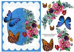 Flowers And Butterflies 8