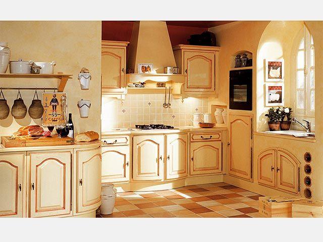 Les cuisines vivre cuisine quip e rustique for Cuisine style campagnard