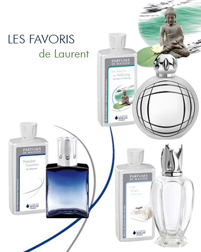 Les Favoris De Laurent Responsable Production 1 Parfum De Maison Aux Sources Du Mekong 2 Lampe Sweet Bubble Satinee 3 Parfum Neutre Essentiel 4 Lampe Capr