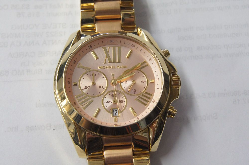 7aff26f80790 Michael Kors Women s  Men s Chronograph Bradshaw Two-Tone Bracelet Watch  MK6359  MichaelKors  Fashion