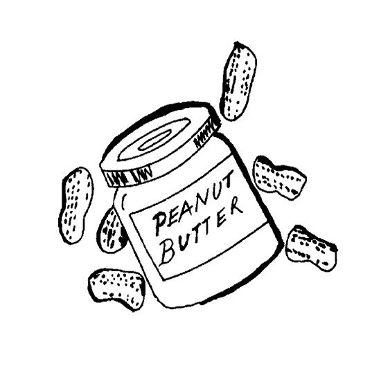 Peanut Butter Coloring Pages For Kids Coloring Pages For Kids Coloring For Kids Coloring Pages