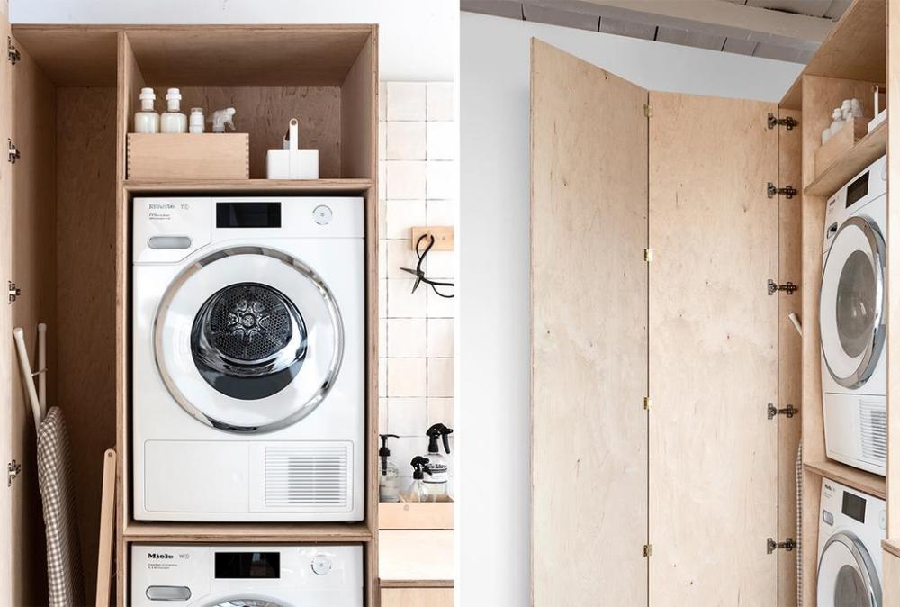 Diy De Ultieme Waskast Laundry Cabinets Paint Colors For