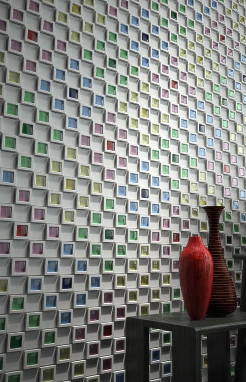 japanese wall tiles - 'dent cube'inax | amazing tile