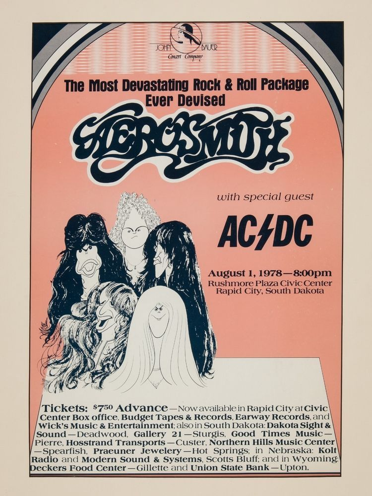 Aerosmith Draw The Line Tour With Ac Dc(画像あり)