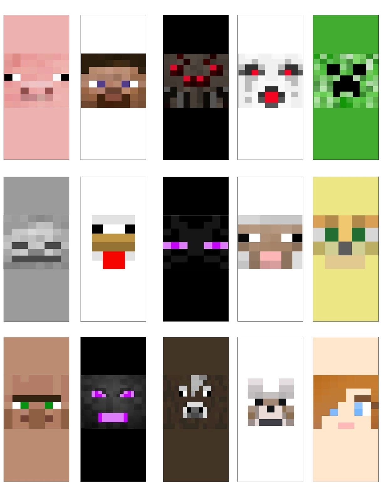 Have Fun With These Candy Bar Wrapper Printables Perfect For Your Next Minecraft Birthday Party