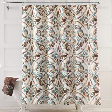 Exceptionnel Better Homesu0026gardens Bhg Medallion Fabric Shower Curtain   Walmart.com