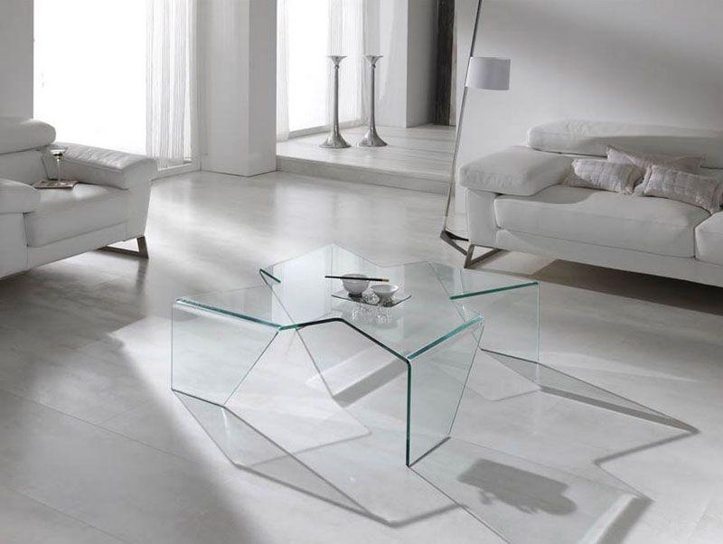 Mesas de centro mesas de centro en cristal comedor - Mesitas auxiliares de cristal ...