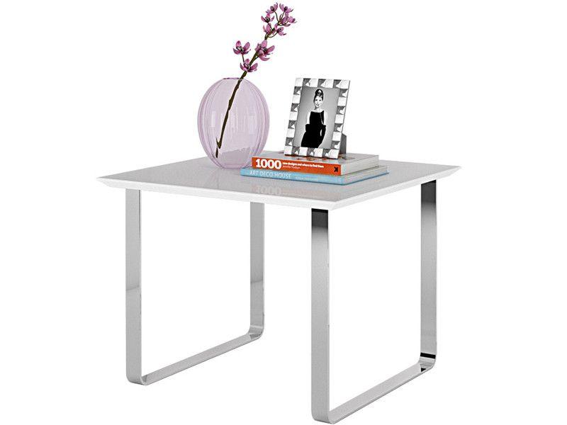 Beistelltisch Paris Aus Mdf Holz In Weiss Hochglanz Im Modernen Design Loft24 De Beistelltisch Weiss Beistelltisch Tisch