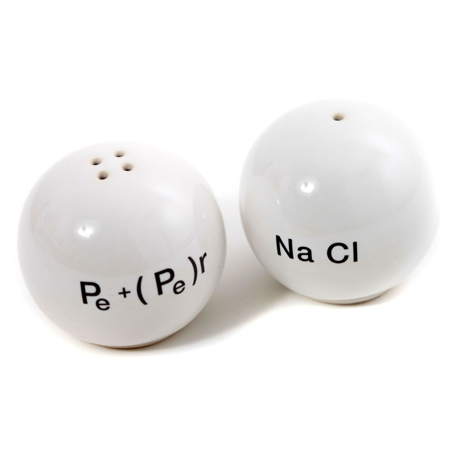 chemistry salt and pepper shakers  these are so cool  - chemistry salt and pepper shakers  these are so cool )