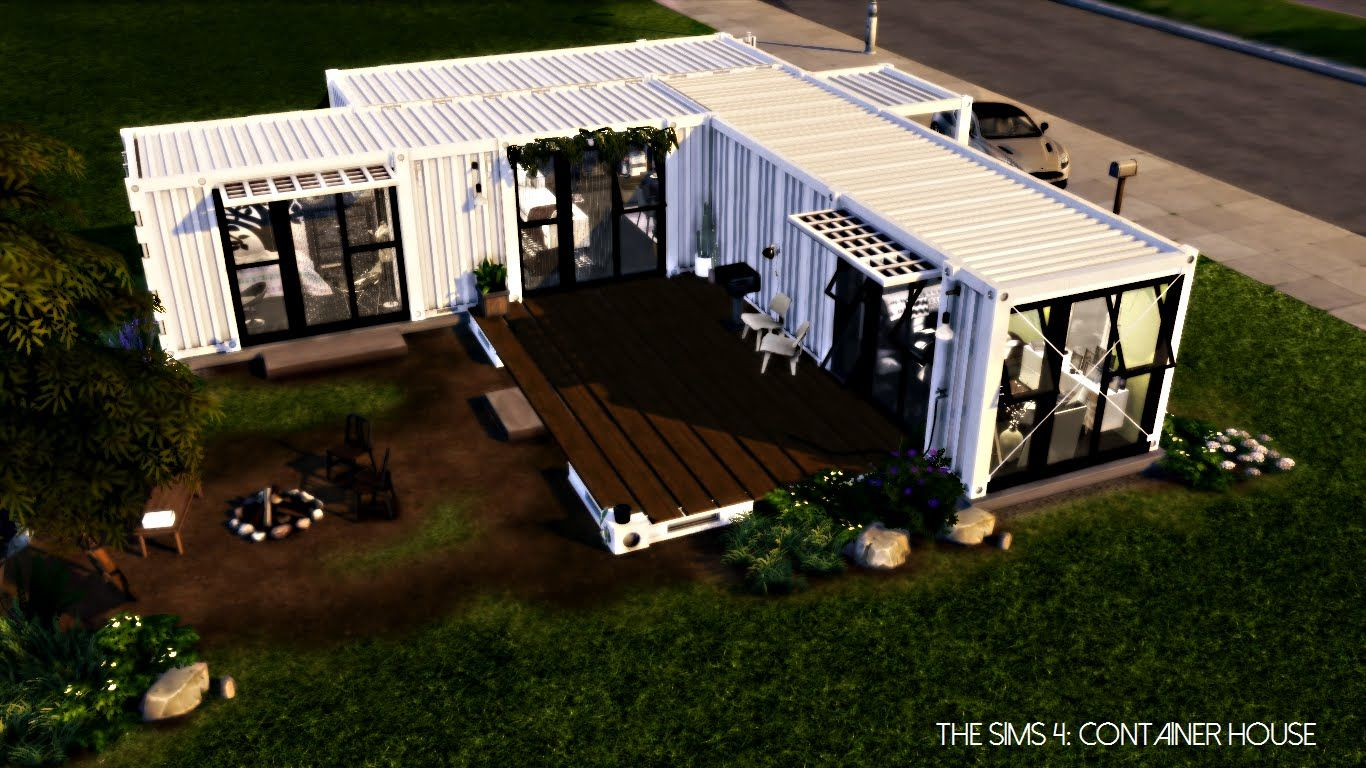 Shipping container homes youtube on pinterest shipping containers - The Sims 4 Shipping Container House Youtube