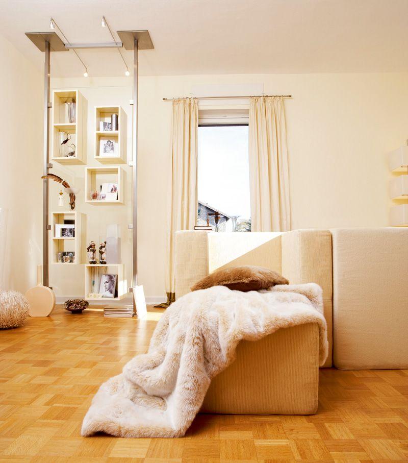 Ein Ganzer Raum In Cashmere Sorgt Fur Eine Stimmung Die Mit Warme Verbunden Wird Schoner Wohnen Farbe Wohnen Schoner Wohnen Wandfarbe