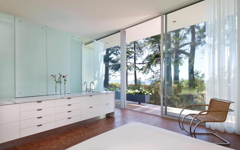Idyllic coastal getaway with sustainable features nestled ...